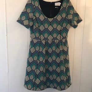 Anthro HD IN PARIS size large garden party dress